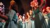 Le chœur Vesna de Moscou, tout en jeunesse et en turquoise au Festival  Vochora à Tournon (25/7/19)