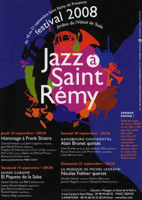 18-21 septembre - Jazz à Saint-Rémy de Provence