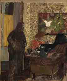 Edouard Vuillard, Intérieur avec Misa au piano