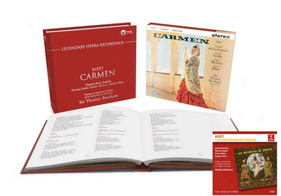 Carmen et les Pêcheurs de perles en réedition chez Warner Classics. Par Christian Colombeau