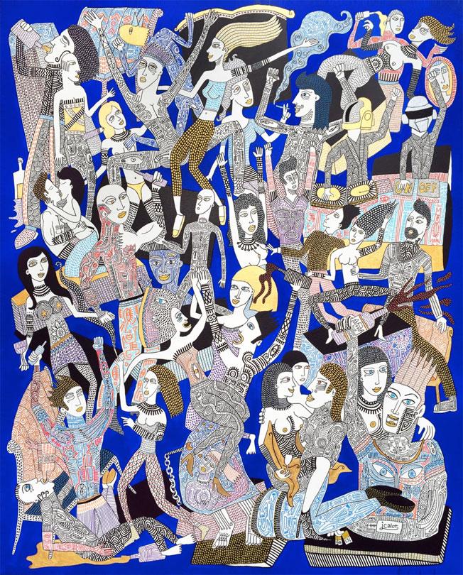 The Party ! Exposition Julien Calot à la Galerie Claire Corcia, Paris, du 6 octobre au 12 novembre 2016