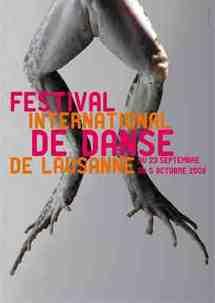 23/09 au 4/10 - Lausanne : Festival international de danse de Lausanne, 11e édition