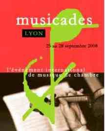 25, 26, 27, 28 septembre 2008 - Lyon : Festival Les Musicades