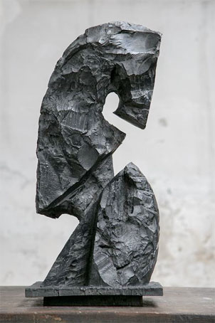 Cavalier, pièce gagnante, bronze © Arnaud Gaertner