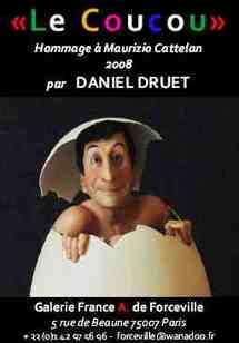 26 septembre au 24 octobre 2008 - Paris, CARRE RIVE GAUCHE : Daniel Druet, sculptures. 'Parcours du XX° siècle et de l'Art contemporain'