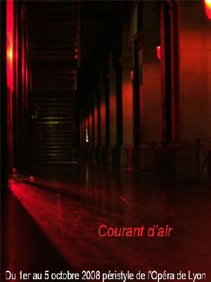 1er au 5 octobre - Lyon, Opéra : Courant d'air. Installation - Performance au péristyle de l'Opéra