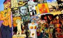 14 novembre au 1er mars 2009 > Le Creusot, L'Arc, Scène Nationale : Erró, La Comédie Humaine