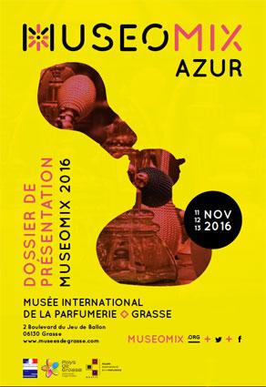 MuseoMix Azur, musée international de la Parfumerie, Grasse, du 11 au 13 novembre 2016