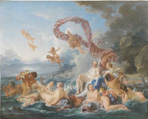 François Boucher, Le Triomphe de Vénus. Nationalmuseum Stockholm @ Cecilia Heisser Nationalmuseum