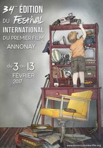 La 34e édition du Festival International du Premier Film d'Annonay aura lieu du 3 au 13 février 2017