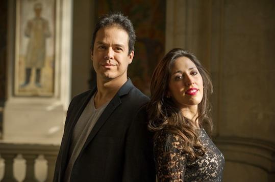Leonardo García Alarcón et Mariana Flores © Ambronay