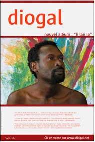 vendredi 17 octobre > Diogal en concert à l'Espace Culturel Jean Carmet à Mornant (69)  à 20h30