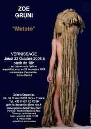 23 octobre au 28 novembre > NIce, Galerie Depardieu : Zoé Gruni, Metato, une réflexion intime sur l'identité et sur la mémoire