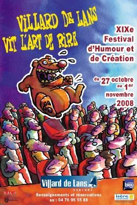 27/10 au 1/11 > Villard-de-Lans : Festival d'Humour et de Création. Villard-de-Lans vit l'art de l'art