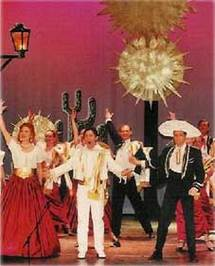16/11 > Nice, Palais de la Méditerranée : Le Chanteur de Mexico, opérette de Francis Lopez