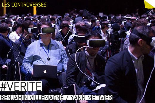 #Vérité, Yann Métivier & Benjamin Villemagne, à La Fabrique, Valence, du 17 Janvier au 6 Février 2017