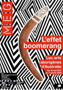 L'effet boomerang. Les arts aborigènes d'Australie du 19 mai 2017 au 7 janvier 2018 au Musée d'ethnographie de Genève