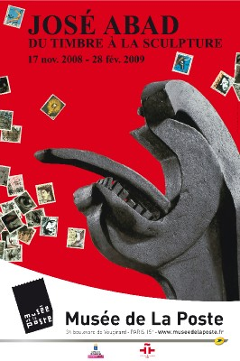 17/11 au 28/02 > José Abad - Du timbre à la sculpture, au Musée de la Poste, Paris