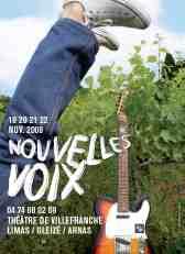 19 au 22/11 > Villefranche fête la jeune chanson française avec le Beaujolais Nouveau