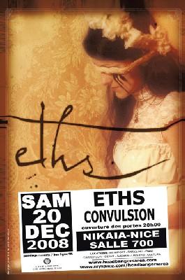 20/12 > Eths + Convulsion au Nikaïa 700 à Nice