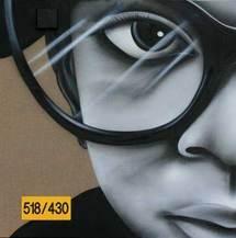 Ecloz, sans titre, 2008, aérosol, 120 x 120 cm
