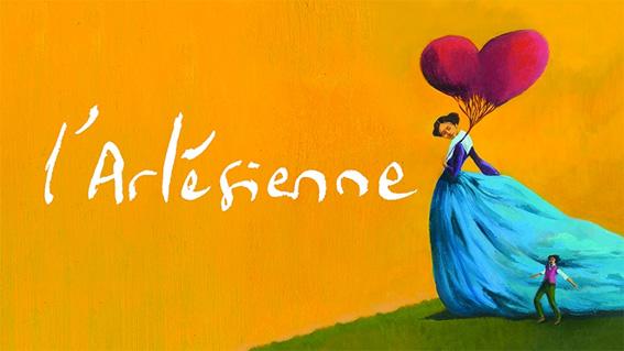 L'Arlésienne, une histoire d'amour. Une création de l'ensemble Agora, création février 2017 à l'Opéra de Lyon