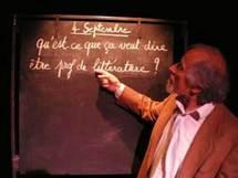 25/11 au 7/12 > Prof ! de Jean Pierre Dopagne. Espace 44 et la Cie Le Fier monde, Lyon