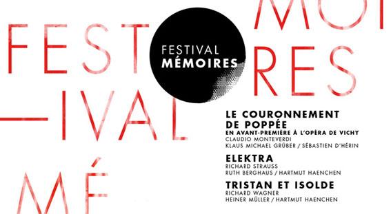 Festival Mémoires, Opéra de Lyon, du 7 mars au 5 avril 2017