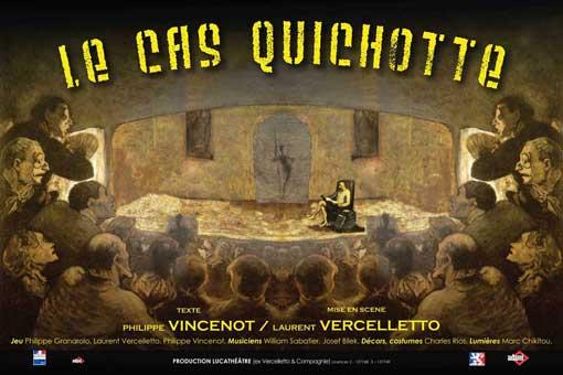 24 au 30/11 > Le cas Quichotte de Philippe Vincenot au théâtre des Asphodèles à Lyon
