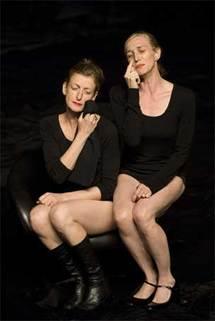 Mathilde Monnier et Maria la Ribot