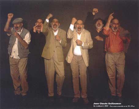 28/11 au 24/01 Jean-Claude Guillaumon, Ils continuent, photographies, au théâtre de Privas