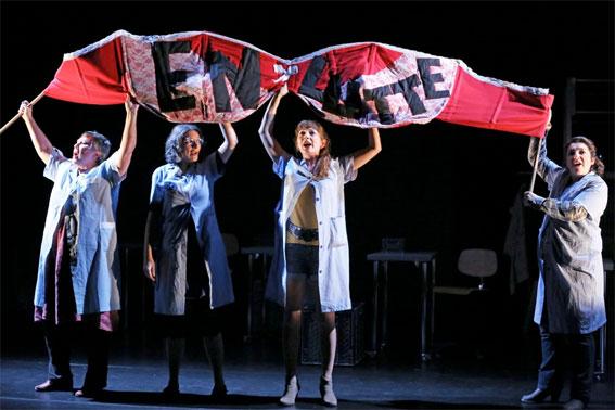 A plates coutures, de Carole Thibaut-Lansman, ciné théâtre de Tournon le 7 mars 2017