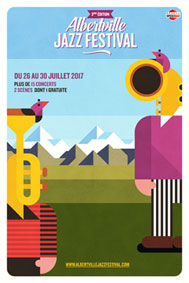 3e édition d'Albertville Jazz Festival du 26 au 30 juillet 2017