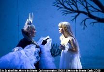 Ouverture de saison avec la Flûte Enchantée à l'Opéra de Monte-Carlo par Christian Colombeau
