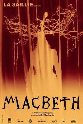 Macbeth d'après l'oeuvre de Shakespeare, Espace Culturel Jean Carmet à Mornant (69)