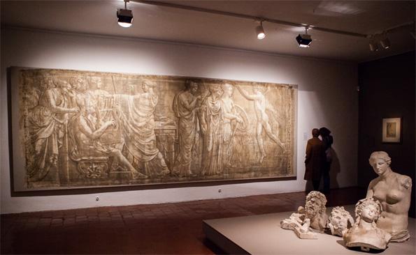 Musée Réattu « Retrouvons la Raison ! », restauration de la 5° Grisaille par mécénat participatif