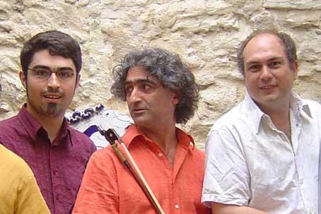 Arnaud Bertrand, Michel Bismut et François Ceccaldi