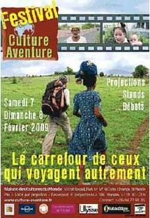 7 et 8/2 <> Festival Culture - Aventure