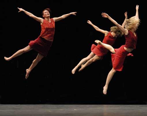 5/12 <> Ballet de l'opéra de Lyon, XWilliam Forsythe, Maguy Marin, Cratère Alès