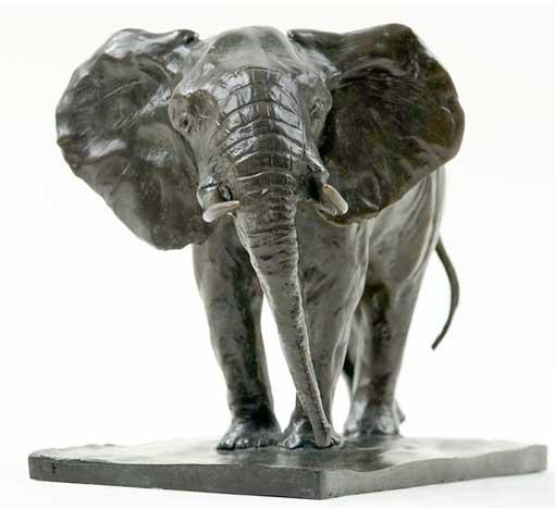 17/1 au 28/2 <> Damien Colcombet, sculpteur animalier. Galerie Estades, Lyon