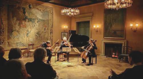 Concert classique à la Mirande, Avignon, avec Philippe Graffin,  le 18 avril 2017