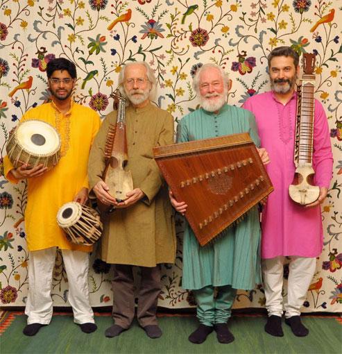 Ensemble Nuryana Raga Bihag, musiques d'Inde et d'Afghanistan quartier d'hiver d'avril ; 8 avril 2017 à Saint Remèze (07)  et 9 avril à Rocles