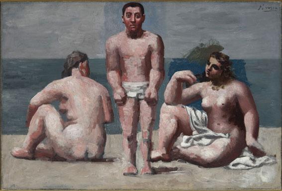 Pablo Picasso Baigneur et Baigneuse 1921