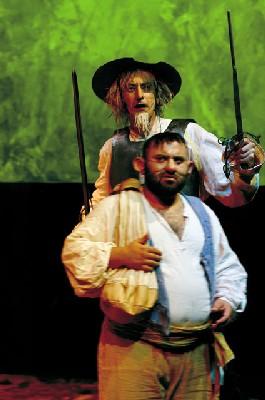 4/02 <> Don Quichotte de Cervantès / Philippe Adrien au Toboggan à Décines (69)