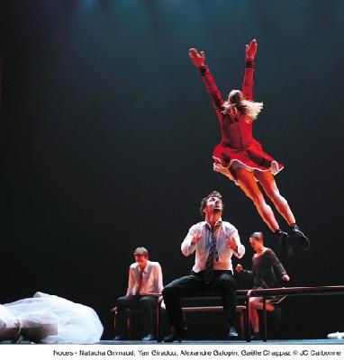 29/04 <> Empty moves (part 1), Noces - Angelin Preljocaj // danse contemporaine. Au Toboggan à Décines (69)