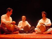 Musique Persanne, le 16 janvier : Improvisations Nocturnes, Chemirani-Movaffaghi. Chapelle Ste Marie-d'en Haut à Grenoble
