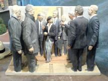 19 au 24 janvier, exposition Politique spectacle - Georges Guye à la galerie du tableau à Marseille