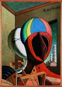 Chirico, Les masques, 1973