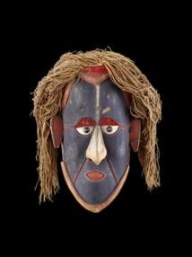 Masque mawa. Australie, Queensland, îles du détroit de Torrès, île Saibai. MEG Inv. ETHOC 013621 © MEG, J. Watts
