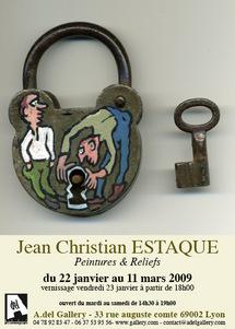 22 janvier au 11 mars Hommage à Guy de Maupassant par J C Estaque à Lyon